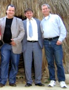 Тјуњајев, псеудоархеолог Милутин Јаћимовић и Кљосов