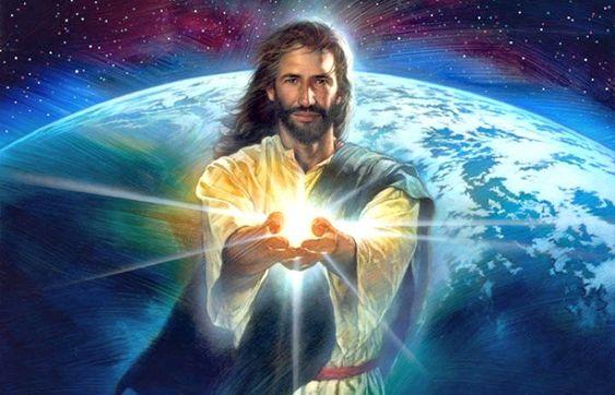 Један од примера како јеретици приказују Спаситеља. Овакве слике су све присутније и код нас.
